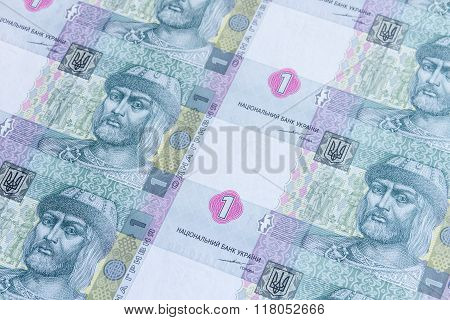 Ukrainian Money Pattern / Background