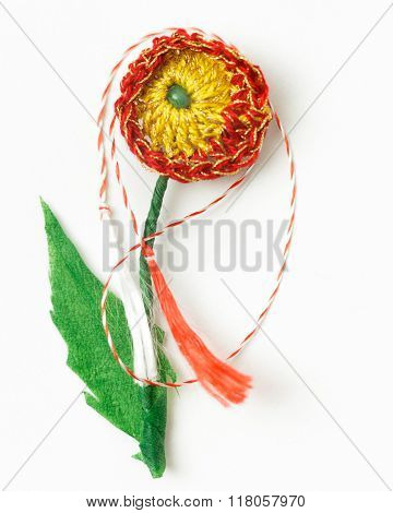 Crochet Flower Handmade Decorative Object