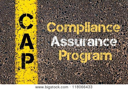 Business Acronym Cap Compliance Assurance Program