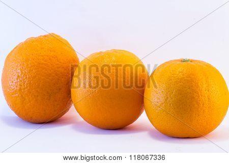 Trio Oranges