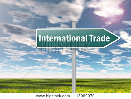 Signpost International Trade