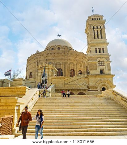 The Coptic Quarter Of Cairo