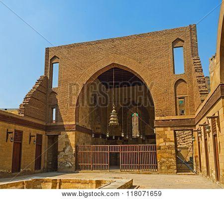 The Madrasa Courtyard