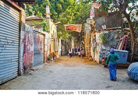 The Slums Of Cairo