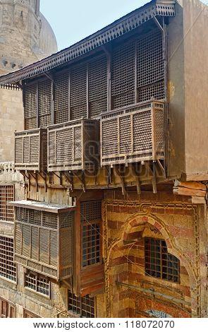 The Wooden Balcony