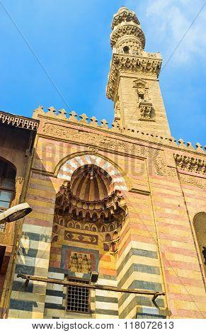 The Mosque's Facade