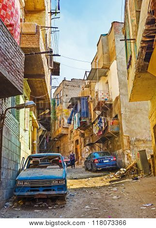 The Poor Districts Of Cairo