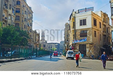 The Cityscape Of Cairo