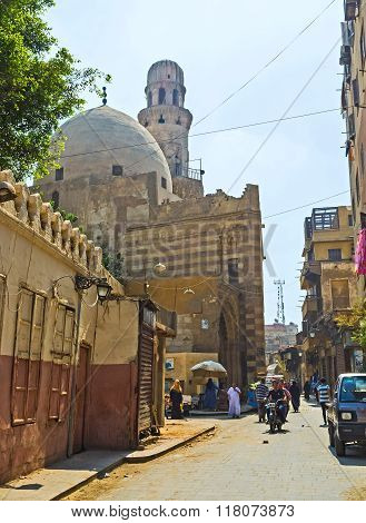 The Cityscape Of Islamic Cairo