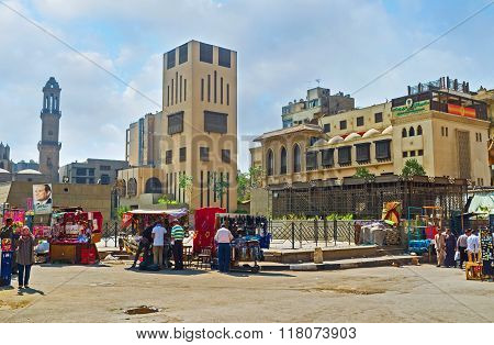 The Markets Of Cairo