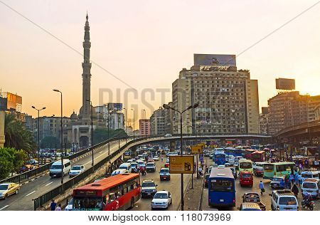 The Traffic Jams In Cairo