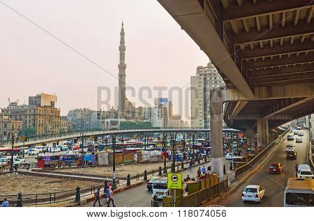 The Overpass On Ramses Square
