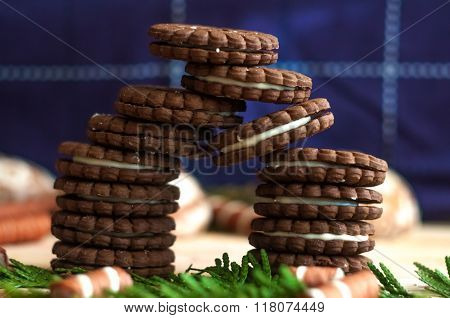 Chocolate gates On The Table