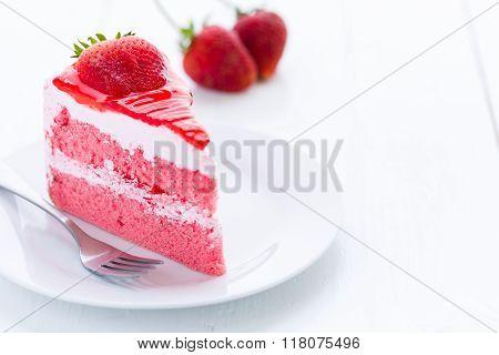 Dessert, Strawberry Cake