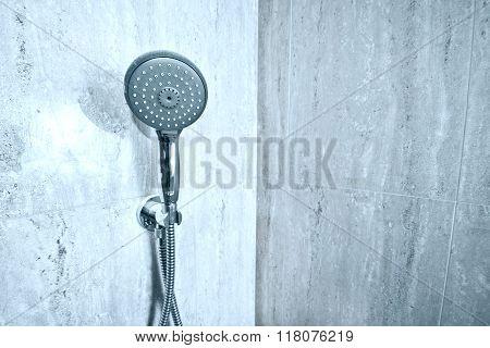 Handshower In The Bathroom.