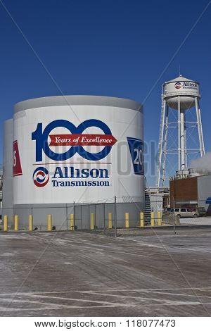 Indianapolis - Circa February 2016: Allison Transmission World Headquarters III