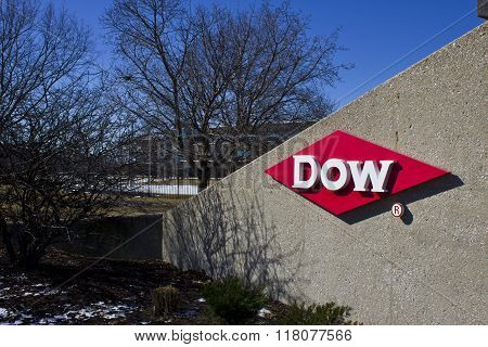 Indianapolis - Circa February 2016: Dow Agrosciences World Headquarters II