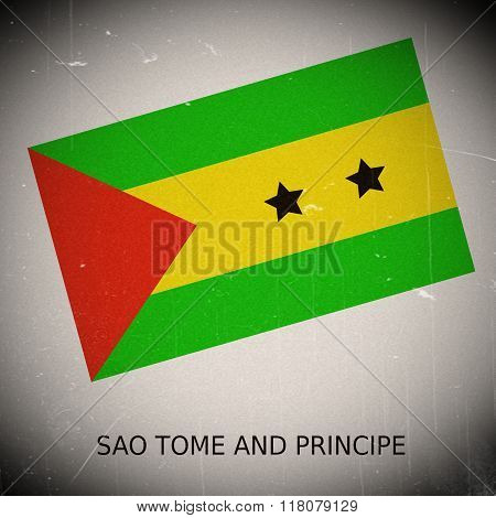 National Flag Of Sao Tome And Principe