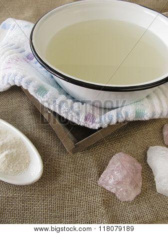 Alkaline bath