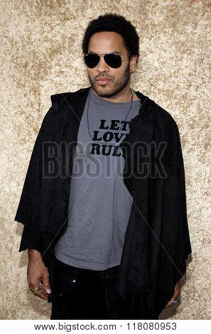 Lenny Kravitz at the Season 7 Premiere of