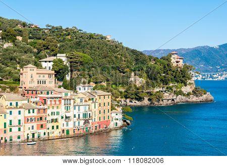 Portofino And The Surrounding Hills