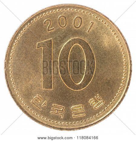 Korean Won Coin