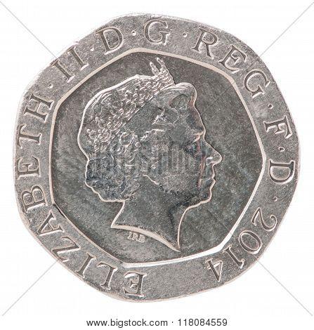 20 English Pence