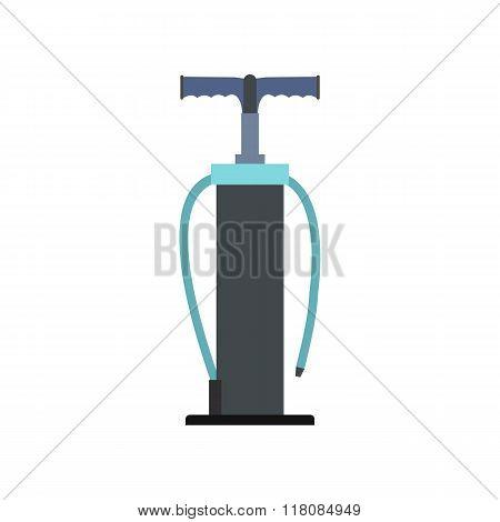 Hand pump flat icon
