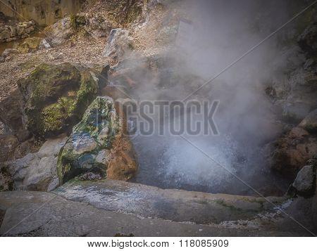 Furnas fumaroles