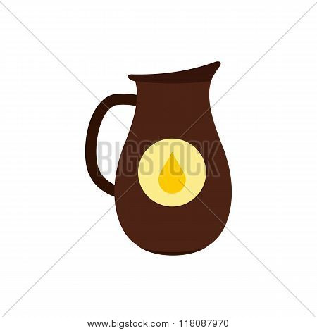 Honey crock flat icon