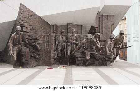 Monument To The 1944 Warsaw Uprising