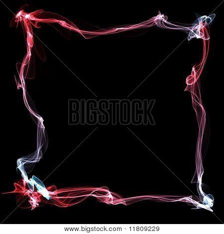 color smoke frame