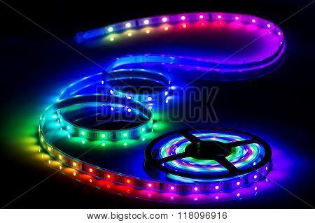 Color LED strip, led tape