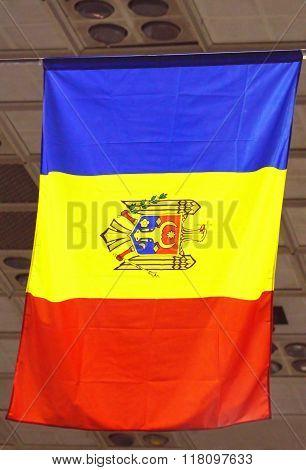 Moldova Waving Flag
