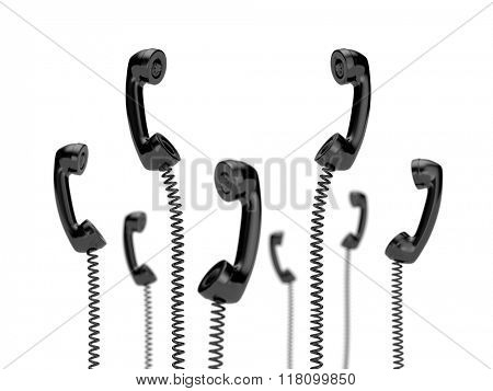 Retro telephone tubes - Getting a call