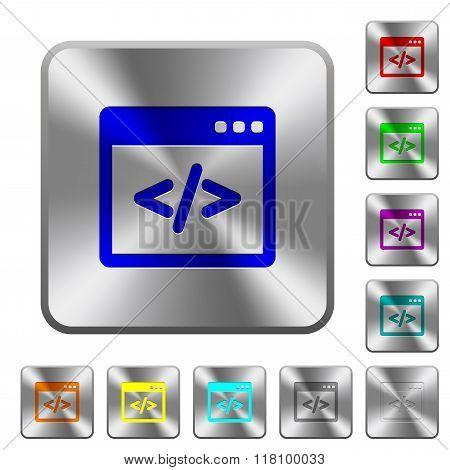 Steel Programming Code Buttons