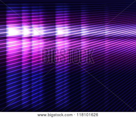 Glowing Violet Vector Background