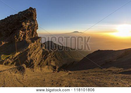 Mount Meru & Mt Kilimanjaro