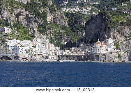 Atrani Village On The Amalfi Coast