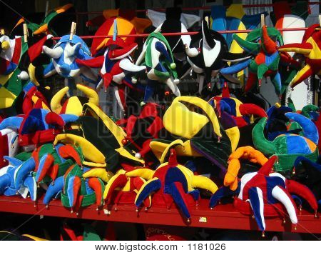 Colourful Carnival Hats