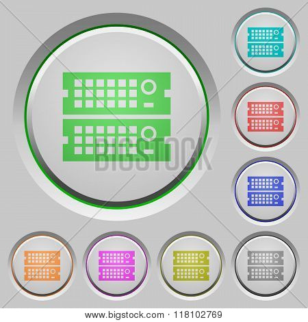 Rack Servers Push Buttons