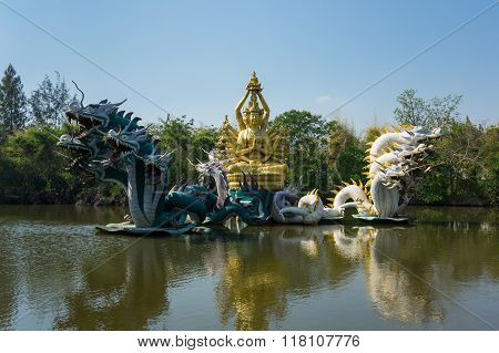 Statue In Mueang Boran