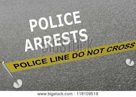 Police Arrests Concept