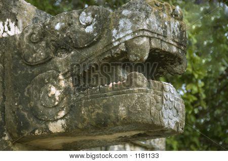 Maya Sculpture 2