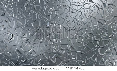 Silver Metal Giffar Pattern
