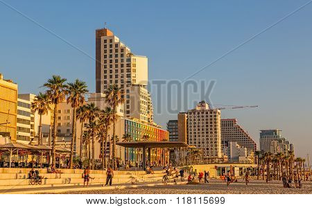 Tel Aviv riviera and hotels
