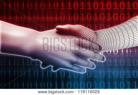 System Integration Concept of Two Business Partners