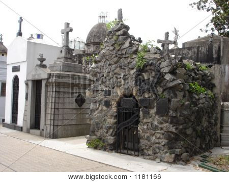 Decorative Tomb In Recoleta