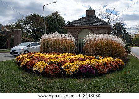 Garden in Front of a Guard House