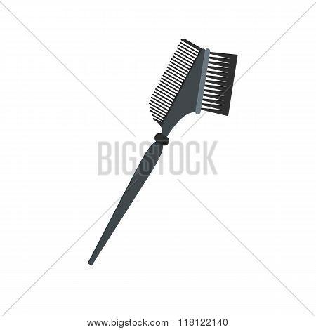 Bilateral comb flat icon
